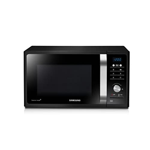 31jRPd7p4LL. SS500  - Samsung MS23F301TAK Solo Microwave, 800W, 23 Litre, Black