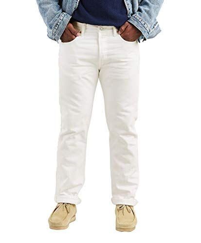 Levi's 501 Original Fit Herren Jeans Gr. 38W x 34L, Blanc (Optic White) (Button 501 Jeans Fly Levis)