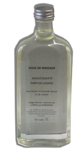 Look Concept - Huile de massage - JASMIN - 500 ml - Adoucissante