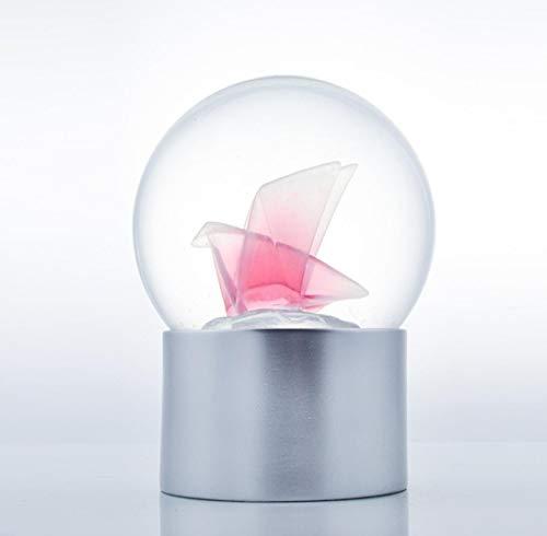 Rote Taube Nachtlicht/Kristallkugel Handwerk/Ambient LED Nachtlichter/Urlaubsgeschenke, Weihnachtsgeschenke, Indoor-Beleuchtung