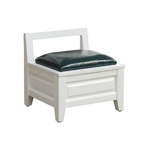 2 Cube Osmanischen (Lagerung Hocker YXX Kleine Holzlager Osmanische Bank Cube Fußablage mit Schwamm Kuhfell Sitz, höhenverstellbar Füße (Farbe : #2))