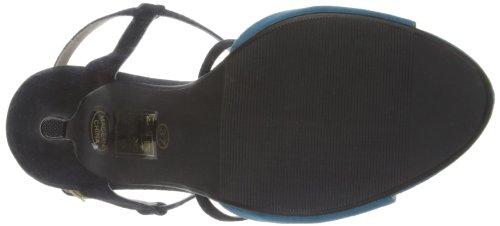 Victoria Delef 14v0524, Semelle compensée femme Bleu - Mar