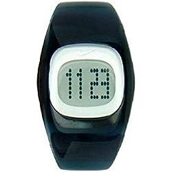 Nike WT0003401 - Reloj con correa de caucho para niños, color azul/gris
