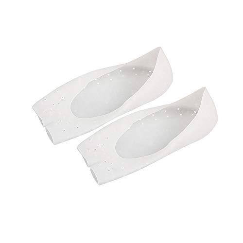1 Paar Silikon Socken entfernen Callous Trockene Rissige Haut Verhindern Plantar Fasciitis Pain & Ferse Knochen Sporn, SPA Fuß Haut Hilfe Sie erreichen Soft & Silky Füße -