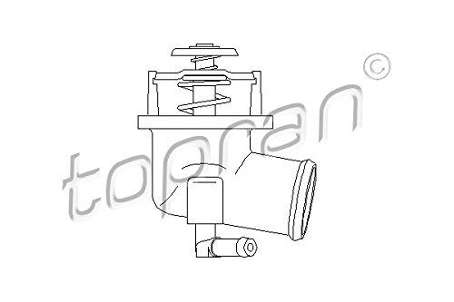 Preisvergleich Produktbild TOPRAN 205 731 Thermostat,  Kühlmittel
