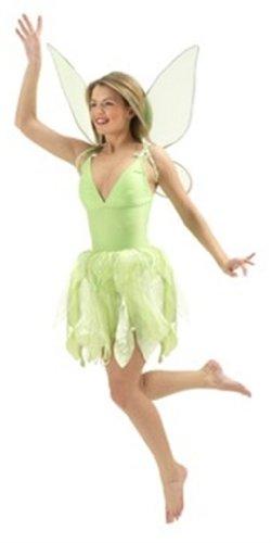 inker Bell Erwachsene Kostüm, Größe L (Disney Tinker Bell Kostüm)