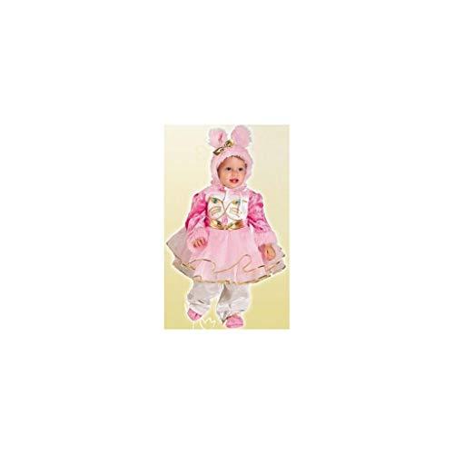 Kostüm Gatita - Disfraces Josman - Disfraz gatita bebé talla 00 (3-12 meses)