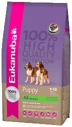 Eukanuba Puppy All Breeds - Rich In Lamb & Rice