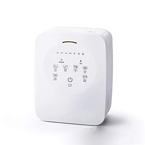 LDJC Raumluftreiniger und Luftbefeuchter, Filter und Generator für Negative Ionen Ionisierer Noise 38Db Indoor Touch-Luftreiniger entfernt Formaldehyd PM2.5 Lufterfrischer