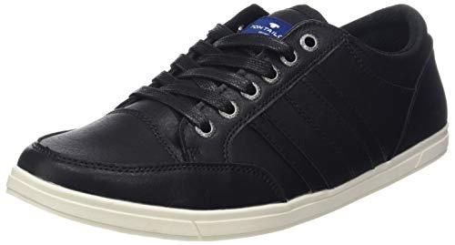 Tom Tailor 585100330, Baskets Homme, Schwarz (Black...