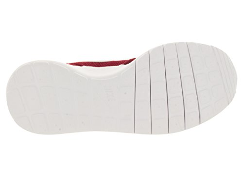 Nike Rosherun Scarpe da Corsa, Unisex Bambino Rosso / Bianco / Grigio (Gym Red / White-Dark Grey)