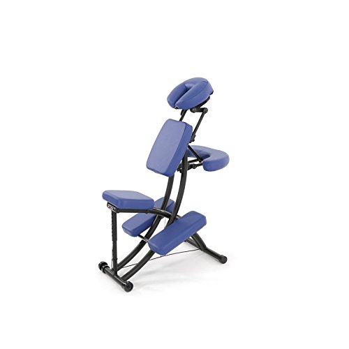 OAKWORKS Chaise de massage bleue – Certifié France Medical Industrie