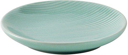 Gedy Sabina Seifenschale, Keramik, aquamarin, 12x12x2 - Aquamarin Seife