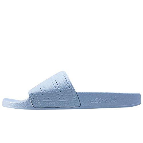 adidas Herren Adilette Badeschuhe Blau
