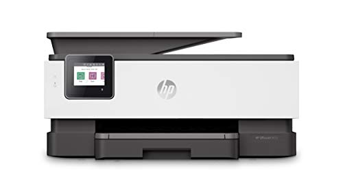 HP OfficeJet Pro 8022 Multifunktionsdrucker (Drucken, Scannen, Kopieren, Fax, WLAN, LAN, Duplex, HP Instant Ink, A4, HP ePrint, Airprint, mit 2 Probemonaten HP Instant Ink Inklusive) basalt (Drucker All In One Wireless Hp)