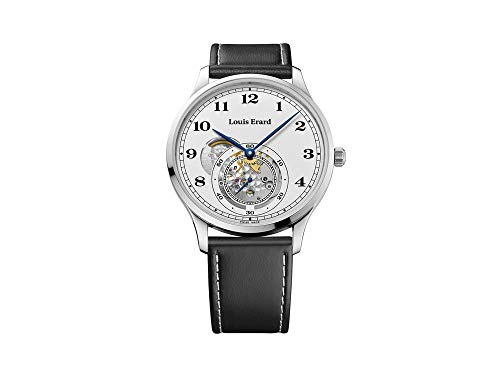 Louis Erard 1931 Automatic Watch, White, Leather Strap, 32217AA31.BVA32