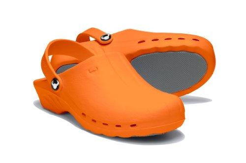 Suecos® Oden, Damen Clogs & Pantoletten orange
