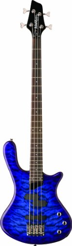 washburn-t14q-taurus-series-electric-bass-guitar-transparent-blue
