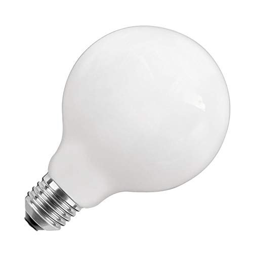 Bombilla LED E27 G125 Glass 10W Blanco Frío 6000K efectoLED