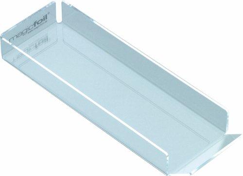 Magicfoil Toni & Guy - Boîte pour Feuilles d'Aluminium Longues - Verre Acrylique - 10 X 30 cm