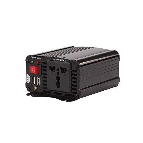 400w Auto Power Inverter (KKmoon 400 Watt Auto Power Inverter Solar Wechselrichter DC 12 V zu AC 110 V Geändert Sinus Converter mit Dual USB Schnittstelle)