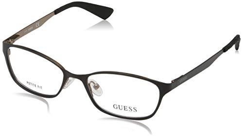 Guess Damen Brille Gu2563 49002 Brillengestelle, Schwarz, 49