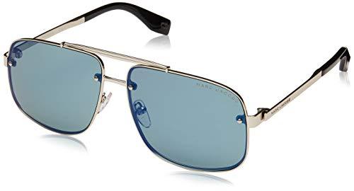 Marc Jacobs Sonnenbrillen (MARC-318-S 3YGHZ) gold - brau-grün mit blau verspiegelt effekt