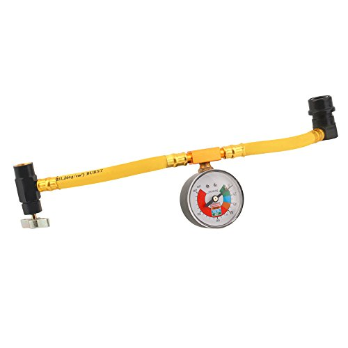 asmaza (TM) Manguera de medición de calibre de recarga Aire Acondicionado refrigerante...