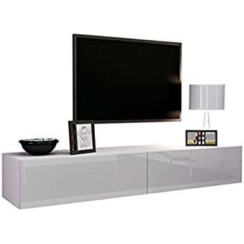 tv schrank vigo fernsehschrank tv lowboard mit grifflose. Black Bedroom Furniture Sets. Home Design Ideas