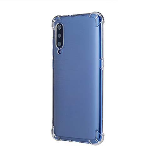 13peas Compatibile con Xiaomi Mi 9 Cover, Custodia per Xiaomi Mi 9 Trasparente Silicone Colori Sfumata Slim Scratch Resistant Cover Protettiva in Silicone Case per Mi 9