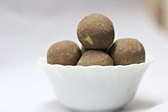 Laduraja Ragi Laddu Indian Sweet 500 Gm (Packet Contain 25 laddu)
