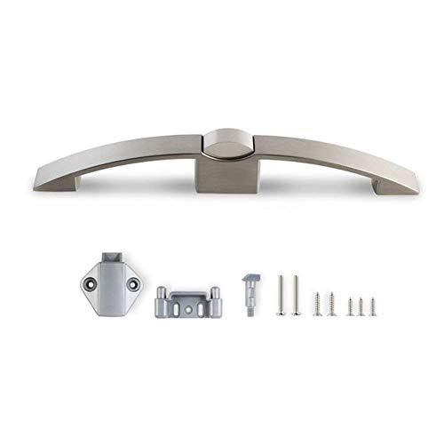 Sn Flush (Schrank Knob Latch Lock für RV Wohnmobil Trailer Wohnmobil Camper, 128mm (Shape : P08-128-SN))