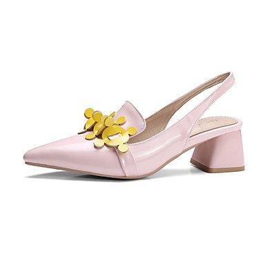 Frauen Heels Frühling Sommer Herbst Club Schuhe Komfort Neuheit Lack Glitter kundenspezifischen Materialien Hochzeit im Freien Dress Casual Blushing Pink