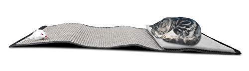 Supremery Katzen Kratzmatte Kratzschutz   Sisal Kratzteppich für Katze   Katzenkratzmatte