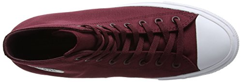 Converse - All Star Ii Lunar Hi, Scarpe sportive Unisex – Adulto Rosso (Deep Bordeaux/White/Navy)