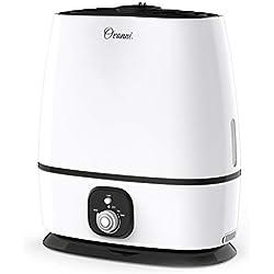 Ovonni 6L Humidificateur d'air Ultrasonique Grande Réservoir d'eau 6L Mode Super Silencieux diffuseur d'arôme, pour Salon, Spa ou Bureau
