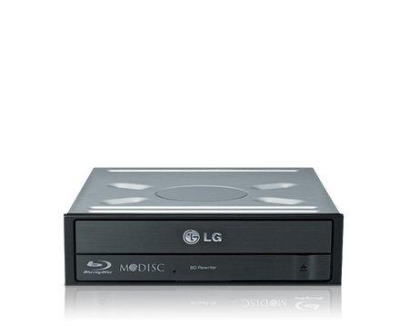 Blue-Ray Brenner 16-fach (16x) LG BH16NS55 | Schwarz | Upgrade für Ankermann PC-Systeme | EAN: 8806087557213