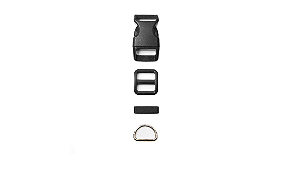Yeahdor 20Pcs D Ring Schnallen Verschluss mit Druckkn/öpfen Set Metall Bronze Kleidung Kn/öpfe f/ür Handtasche DIY Dekoration Zubeh/ör