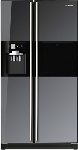 Samsung RS21HZLMR1 Side-by-Side Refrigerator (585 Ltrs, Black Mirror)