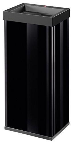 Hailo Big-Box Quick XL Mülleimer (52 Liter, extra große Einwurföffnung, Müllbeutel-Klemmrahmen) 0860-141