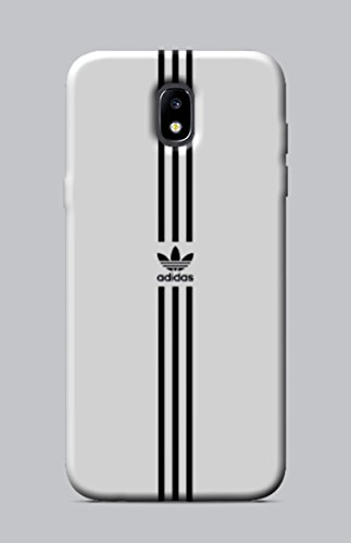WorldSell Cover Morbida in TPU per Samsung Galaxy J5 2017 Brands 017 Adidas