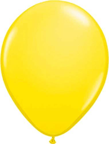 Folat Luftballons gelb 50er Pack