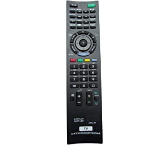 CVANU ® TV Remote Control For Sony Bravia URC-67 (Black)