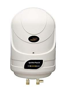 V-Guard Sprinhot 10 Litre Water Heater (Ivory)