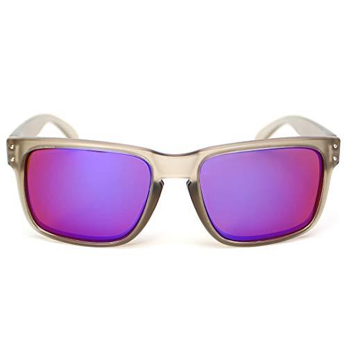 Sonnenbrille (BY003) von Fortis Eyewear, polarisierte Brillengläser, grau