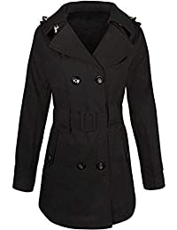 d7a501e9d Amazon.co.uk  Trench - Coats   Coats   Jackets  Clothing