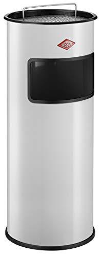 Wesco 150 601-01 - Cubo de Basura para Exterior