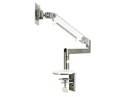 Humanscale M2CWFS Monitorarm, Metall, weiß, 68 x 10 x 47 cm -
