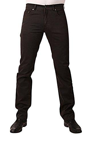 PIONEER Stretch Gabardine-Jeans RON 1144-3881-48 Braun: Weite: W40 | Länge: L32