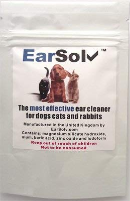 EarSolv™ 20g Cleans Out Ear Wax, Yeast And Mites In Dogs, Cats And Rabbits. ** 100% GUARANTEED ** from EarSolvTM